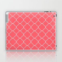 Coral Red Moroccan Laptop & iPad Skin