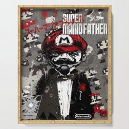 Super Mario Father Serving Tray