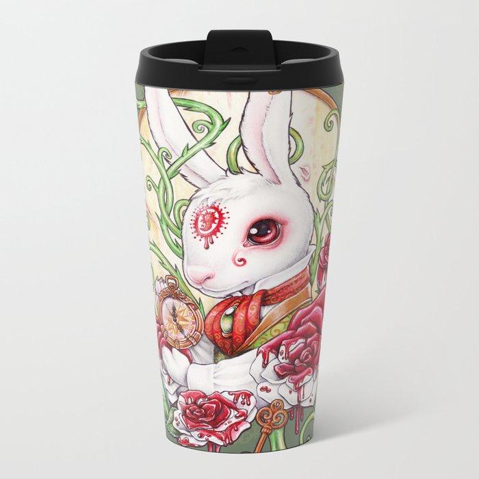 Rabbit Hole Metal Travel Mug