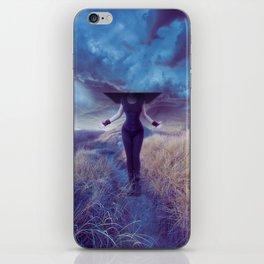 Entropic misadventure iPhone Skin