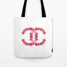 channel of roses Tote Bag