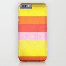 Warm Color Stripes iPhone 6s Slim Case