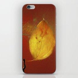 The Lone Leaf iPhone Skin