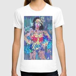 Superhero Type Art Comics Woman T-shirt