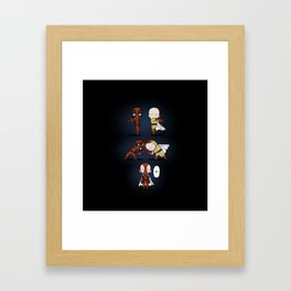 Dead fusion Framed Art Print