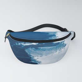 Ice patterns on water Fanny Pack