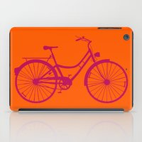 bicycle iPad Cases featuring Bicycle by Mr and Mrs Quirynen