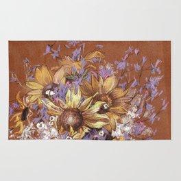 Sunflower coctail Rug