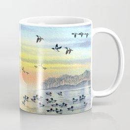 Duck Hunting With Dad For Goldeneye Coffee Mug