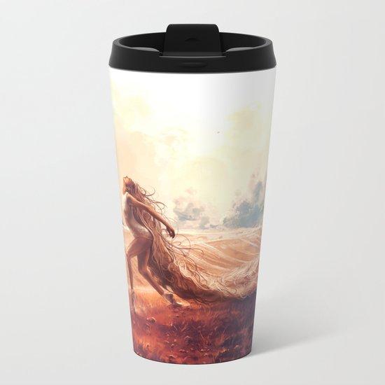 ARIES from the Dancing Zodiac Metal Travel Mug