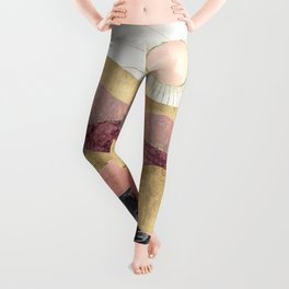 Blush Sun Leggings
