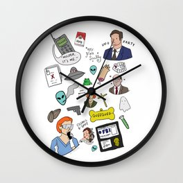 The X-Files Wall Clock