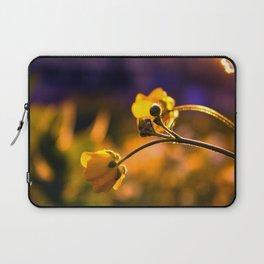 A Wild Flower Sunset Laptop Sleeve