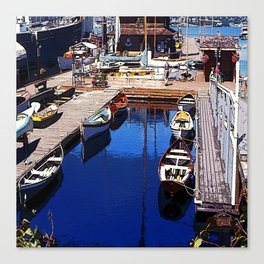 Center for Wooden Boats Canvas Print