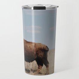 Big Horn Bison Travel Mug