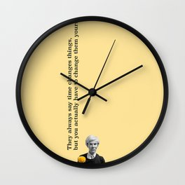 Andy's Flower Wall Clock