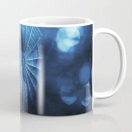 Spider Web in Blue Coffee Mug