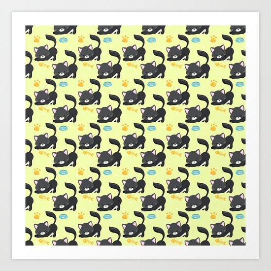 Cute Cat #2 Art Print