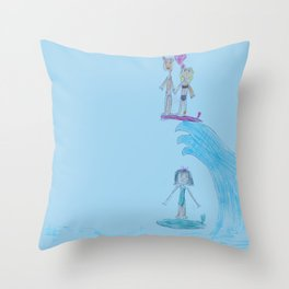 SERF Throw Pillow
