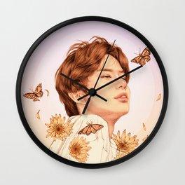 sunshine [jungwoo nct] Wall Clock