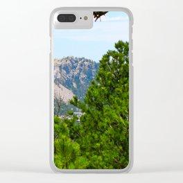 Mt. Rushmore Clear iPhone Case