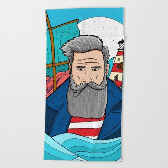 The Sailor Beach Towel