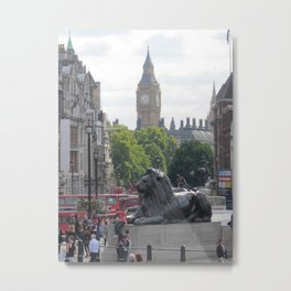 Trafalgar To Big Ben Metal Print