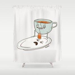 Tea Baggin' Shower Curtain