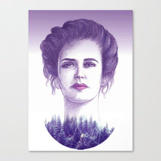 Eva Green/vanessa Canvas Print