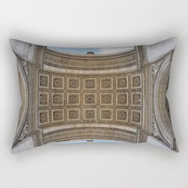 View from Under: Arc de Triomphe Rectangular Pillow