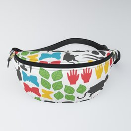 Frida Cutout Pattern Fanny Pack