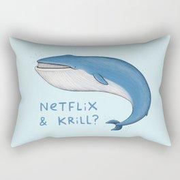 Netflix & Krill Rectangular Pillow