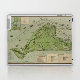 Martha's Vineyard 1913 Laptop & iPad Skin