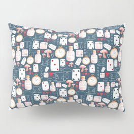 Alice in Wonderland - Six Impossible Things Pillow Sham