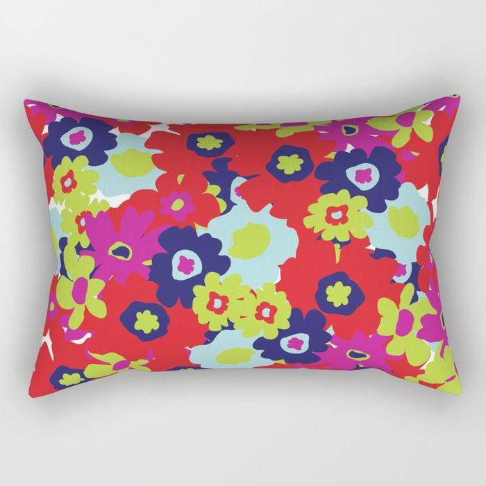 LA Garden - By Sew Moni Rectangular Pillow