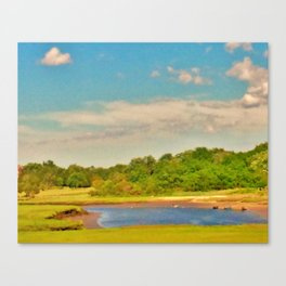 Picture Postcard Perfect Canvas Print
