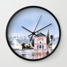 Menara Marrakesh, Morocco Wall Clock