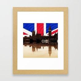 British politics Framed Art Print