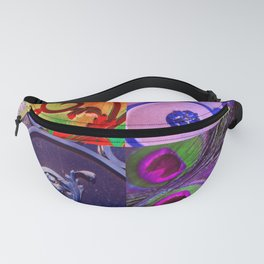 PEACOCK WROUGHT IRON Fanny Pack