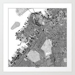 Central Brooklyn 2 Art Print