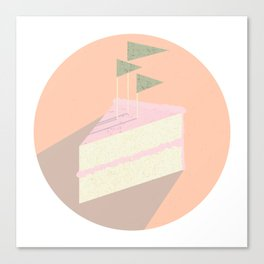 Always room for cake Canvas Print