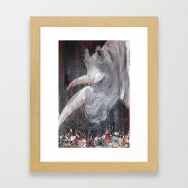 rhinoceros Framed Art Print
