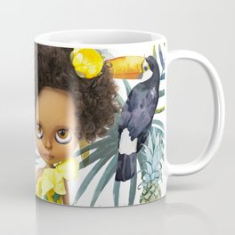 Tropical Summer Nippy Blythe Doll by Erregiro Coffee Mug