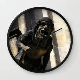 Prague III Wall Clock