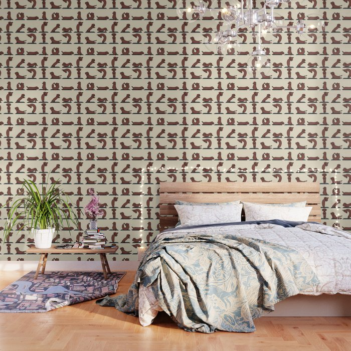 Dachshund yoga Wallpaper