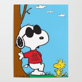 snoopy cool Poster