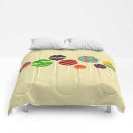 Sweet lollipop Comforters