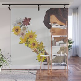 Floral Femme Fatale Wall Mural