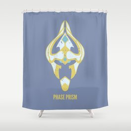 Phase Prism Shower Curtain