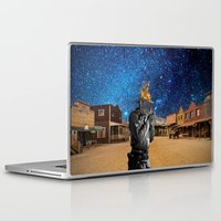 western Laptop & iPad Skins featuring Western by Cs025